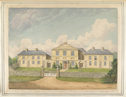 Cutler Boulter (on the building), copied by Rd Bate Esq from a drawing in possession of Mr Upcott